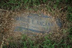 Maude Elizabeth <I>Burkett</I> Angana