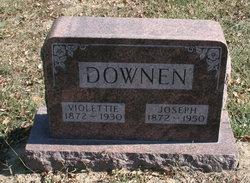 Mrs Violetta <I>Bigelow</I> Downen