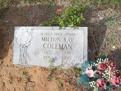 Milton Ray Coleman