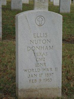 Ellis Nuton Donham