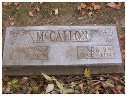 Ada Blanche <I>Taggart</I> McCallon