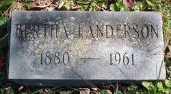 Bertha Jane Anderson
