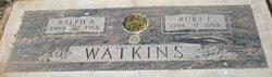 Ralph A, Watkins