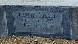 Hassie <I>Hill</I> Cozart