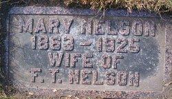 Mary <I>Peterson</I> Nelson