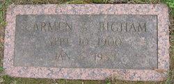 Carmen <I>Shoemaker</I> Bigham