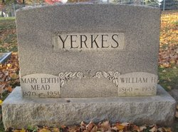 Mary Edith <I>Mead</I> Yerkes