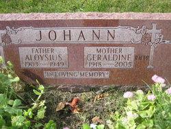 Geraldine <I>Firnbach</I> Johann Raupp