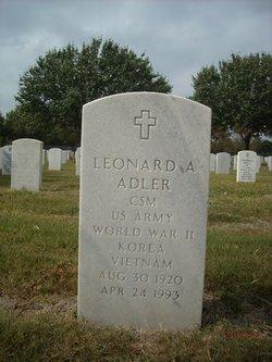 Leonard Adolph Adler
