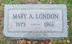 Mary Amanda <I>Barger</I> London