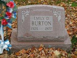 Emily Daisy <I>Gerow</I> Burton