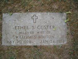 Ethel S. <I>Custer</I> Bouton