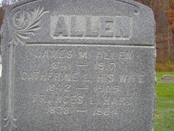 "Catherine L ""Kate"" <I>Hart</I> Allen"