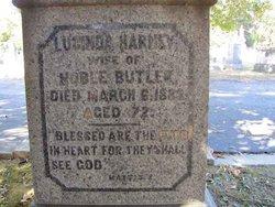 Lucinda <I>Harney</I> Butler
