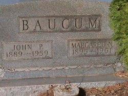 Margaret Nettie <I>Massey</I> Baucum