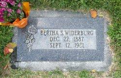 Bertha Josephine <I>Sutherland</I> Widerburg