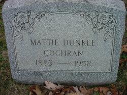 Mattie <I>Dunkle</I> Cochran