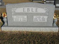 Pauline <I>Ritter</I> Eble