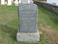 Catherine A. <I>Nevius</I> Anderson