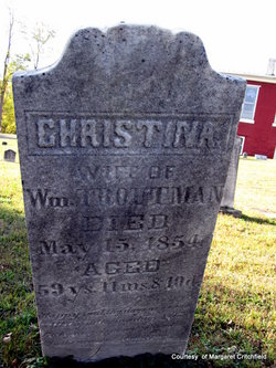 Christina <I>Korns</I> Troutman