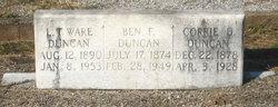 """Benjamin Franklin """"Ben"""" Duncan"""