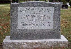 Rosamond <I>Jameson</I> Allen