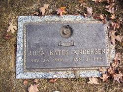 Rhea <I>Bates</I> Andersen
