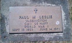 Paul Milford Leslie