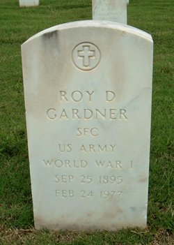 Roy D Gardner