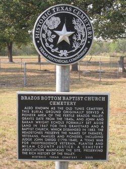 Brazos Bottom Baptist Cemetery