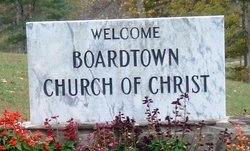 Boardtown Church of Christ Cemetery