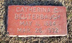Catharina Carolina Wilhelmina <I>Rodeman</I> Beuterbaugh