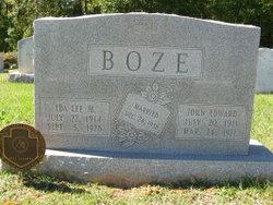 Ida Lee <I>Meredith</I> Boze
