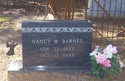 Nancy W. Barnes