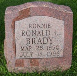 "Ronald Lee ""Ronnie"" Brady"