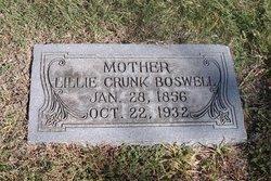Lillie <I>Crunk</I> Boswell