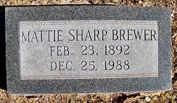 Mattie Sharp Brewer