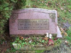 Gertrude <I>True</I> Findlay