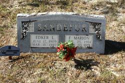 Frances Marion <I>Register</I> Sandefur