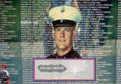 PFC Edward Joseph Brewer