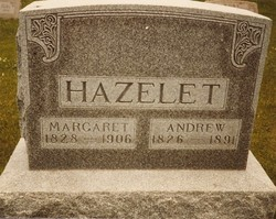 Margaret Jane <I>Johnson</I> Hazelet