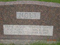 """William David """"Pat"""" Holt"""