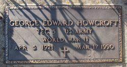 George Edward Howcroft
