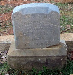 "Sarah ""Mrs. E.D. Campbell"" <I>Sloan</I> Campbell"