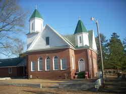 Simmon Ridge Baptist Church Cemetery