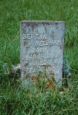 """Bertha May """"Bertie"""" <I>Spencer</I> Needham"""