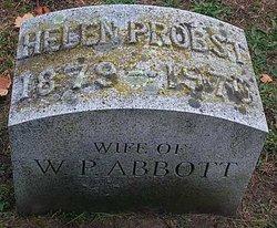 Helen <I>Probst</I> Abbott
