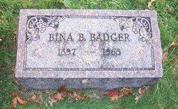 Bina B Badger