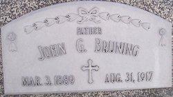 """Johann Herman G. """"John"""" Bruning"""