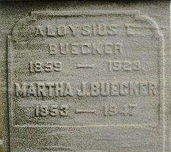 Martha J <I>McCormack</I> Buecker